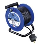 Masterplug Four Socket Medium Open Cable Reel Extension Lead with Handle
