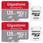Gigastone 128GB 2-Pack Micro SD Card with Adapter
