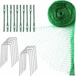 4 M x 10 M Anti Bird Protection Net Garden Plant Mesh Netting Fruit Trees Netting with Cable Ties and U-Shaped Garden Pegs (Green): Amazon.co.uk: Garden & Outdoors