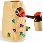 TOP BRIGHT Toddler Magnetic Bird Toys for 2 3 Year Olds Boy Girl Gifts