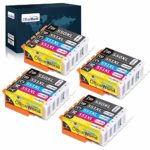 OfficeWorld 550XL 551XL Replacement for Canon PGI-550 CLI-551 Ink Cartridges Compatible with Canon PIXMA IP7250 IP8750 MX925 MG5650 IX6850 MX725 MG5550 MG6350 MG6450 MX920 (4PGBK