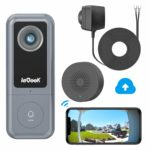ieGeek WiFi Video Doorbell with Chime (Wired)