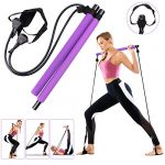 GLKEBY Pilates bar kit with resistance band