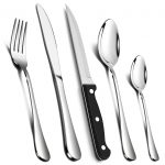 24 Piece Cutlery Sets with 6 Piece Steak Knives