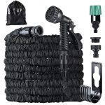 Running Bulls Hose Expandable Garden Hose 75ft with Mix-tap Hose connect