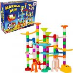 Wowow Toys & Games 100+ Piece Marble Run Game | Great Fun Building Playset Toy For Kids Adults Boys & Girls 3 Years Old+
