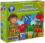 Orchard Toys Games Compendium (4 games in 1 box)